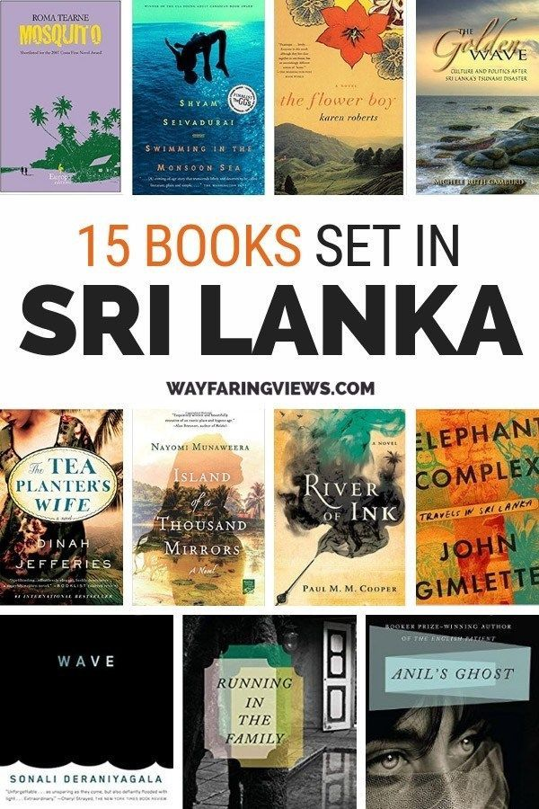 Photo of 15 Books Set in Sri Lanka: Forbidden Love, Families and Strife – All Over the World