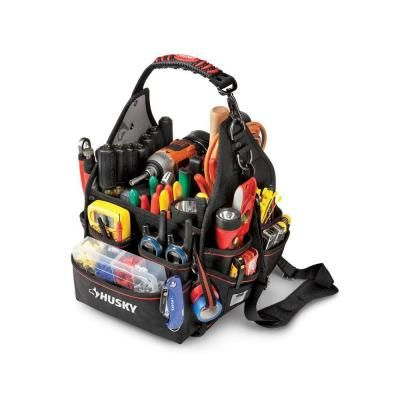 Husky 10 In Electrician Bag With Driver Wall 88593n11 The Home