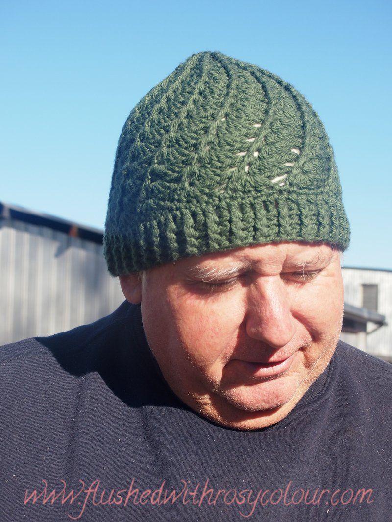 green gardener\'s beanie using the free Divine Hat pattern link at ...