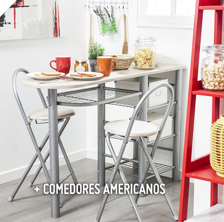Casa bonita comedor auxiliar 120x40x92 cm 2 sillas 3 for Comedor de diario sodimac