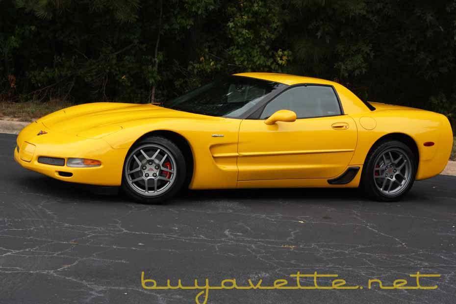 Corvette C5 For Sale >> 2001 Millennium Yellow Corvette Z06 634 Units Yellow