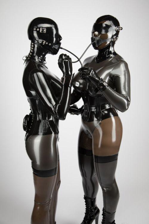 Tight rubber couple