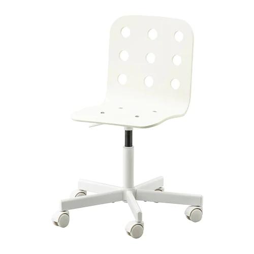 Jules Child S Desk Chair White Ikea In 2020 Childrens Desk And Chair Cool Desk Chairs White Desk Chair Ikea