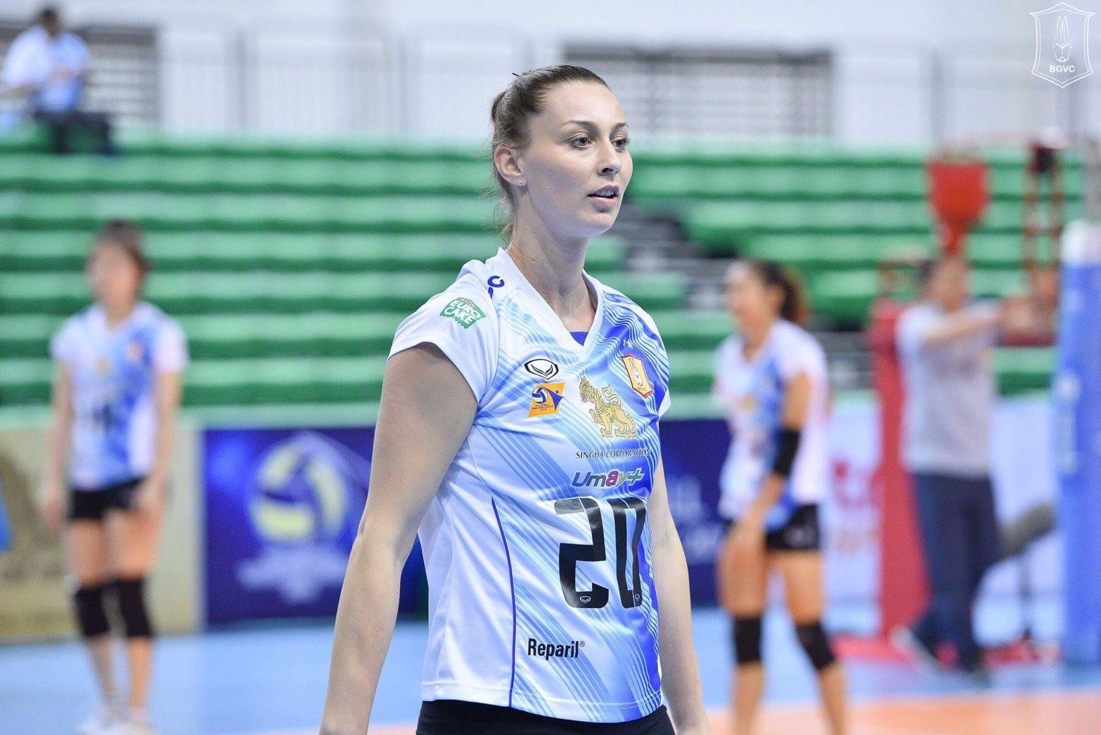 Sonia The Slap Bgvc Moved To South Korea League Volleyball Thailand League Volleyball Thailand The Slap