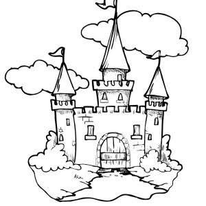 Resultado de imagem para medieval castle sketch simple