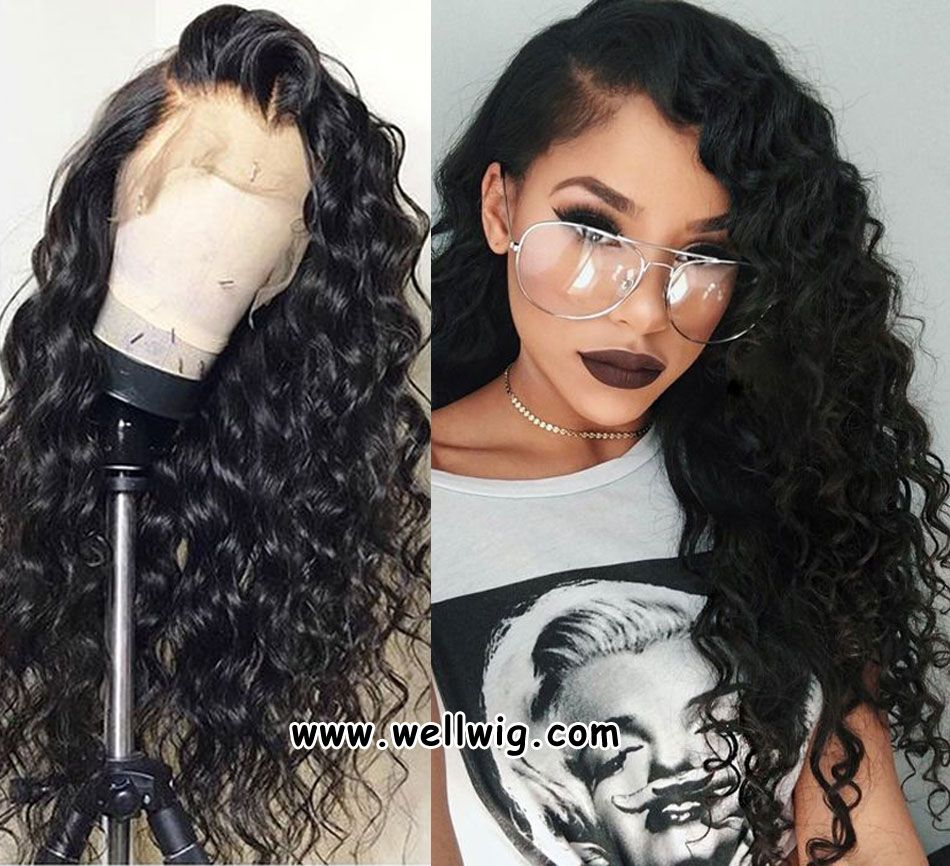 8a Gorgeous Human Hair Full Lace Curly Hairstyle In 2019