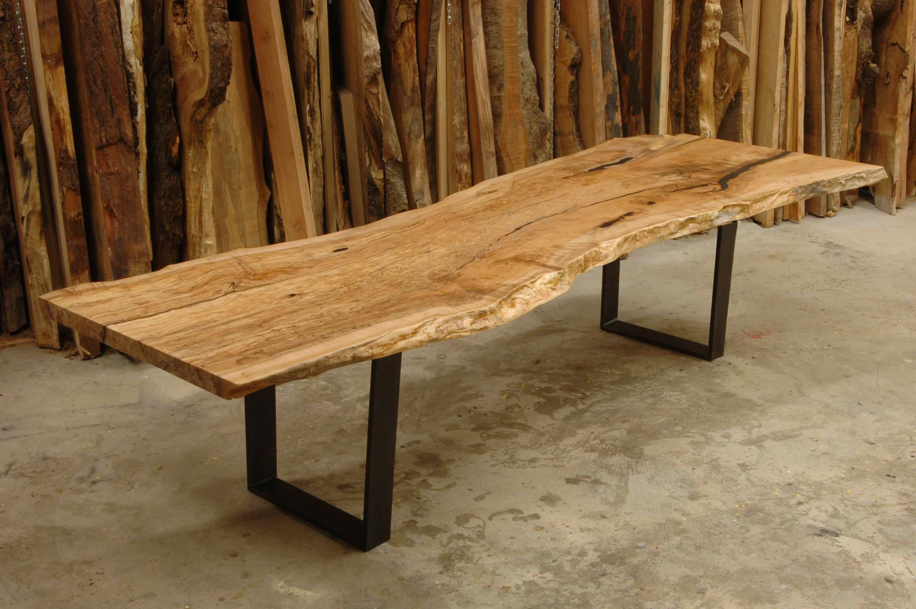 Single slab live edge table Live Edge Design