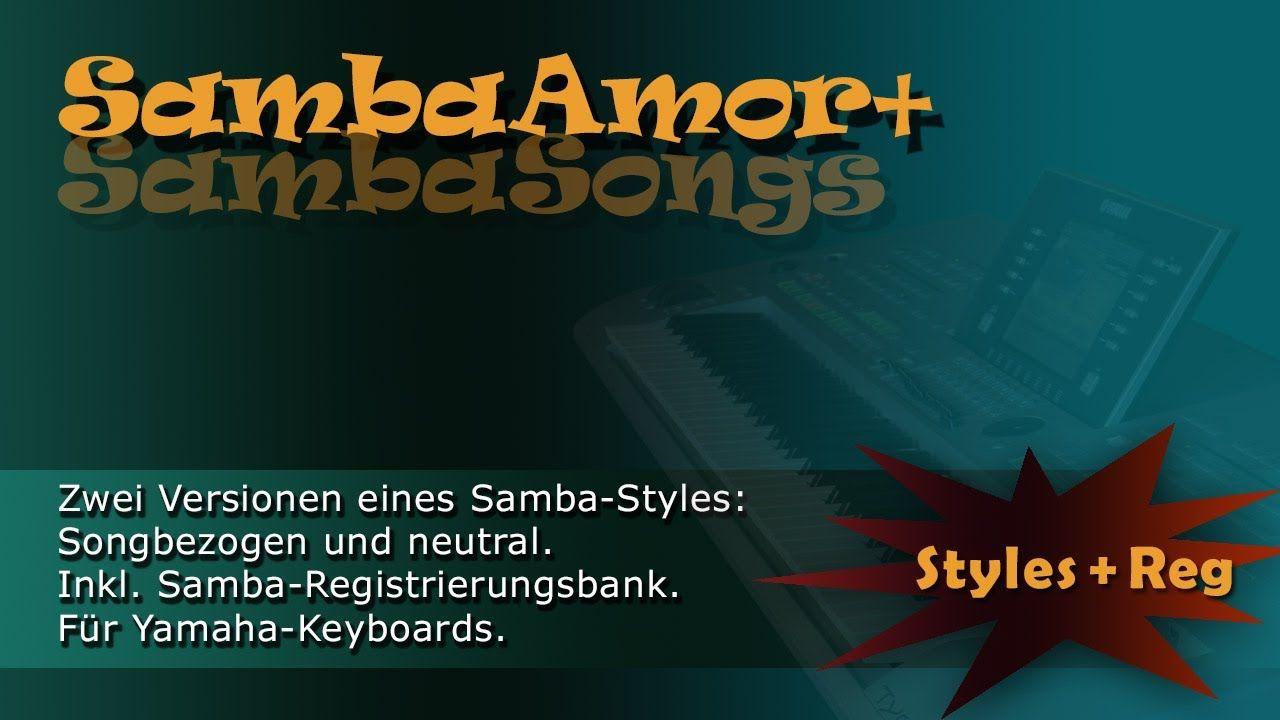 SambaAmor - Style für Yamaha Keyboards - Heidrun Dolde für Soundwonderland