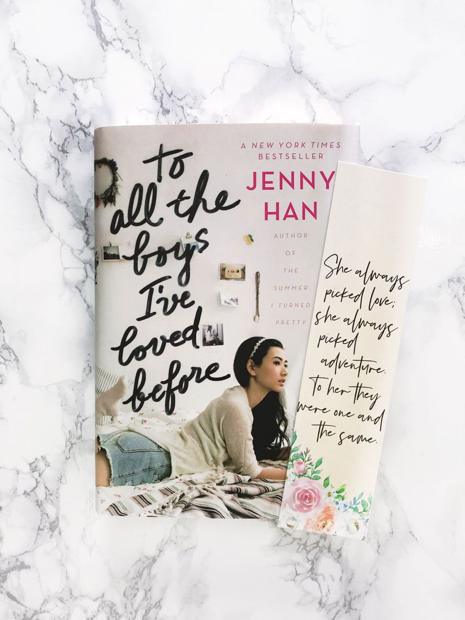 To All The Boys I Ve Loved Before Printable Bookmarks With