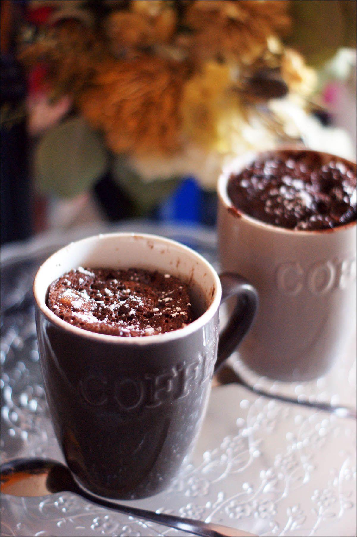 Mug cake chocolat / noix de coco sans beurre | Cake ...