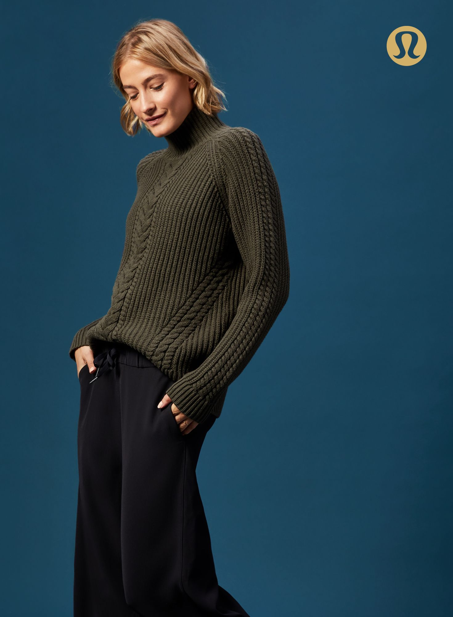 You're going to want to find the Bring The Cozy Turtleneck