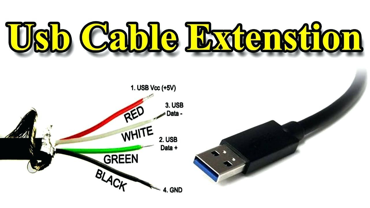 Micro Usb Cable Wiring Diagram Extension Different Wire Color Data Usb Usb Cable Cable