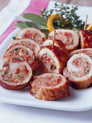 These Pork Loin Slices Are Pounded Thin Stuffed With Prosciutto And Cheese Breaded