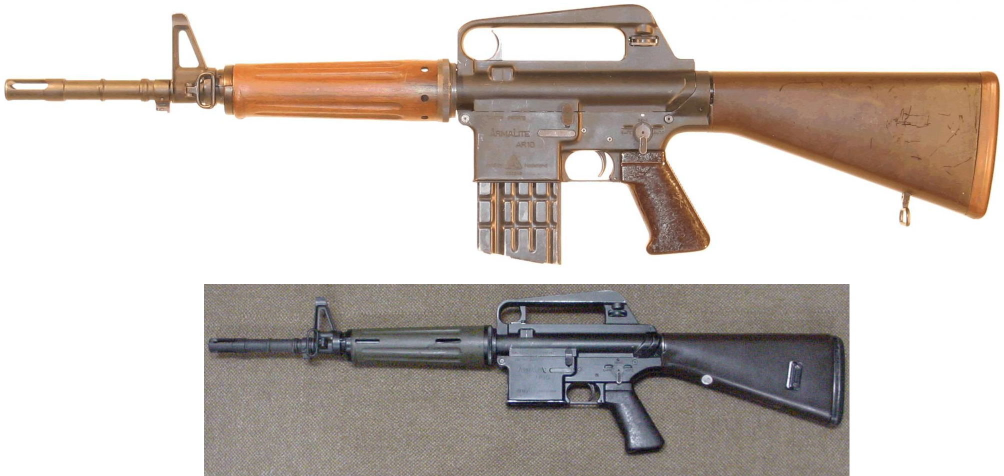 Portuguese Ar10 Carbines Firearms Military History Military