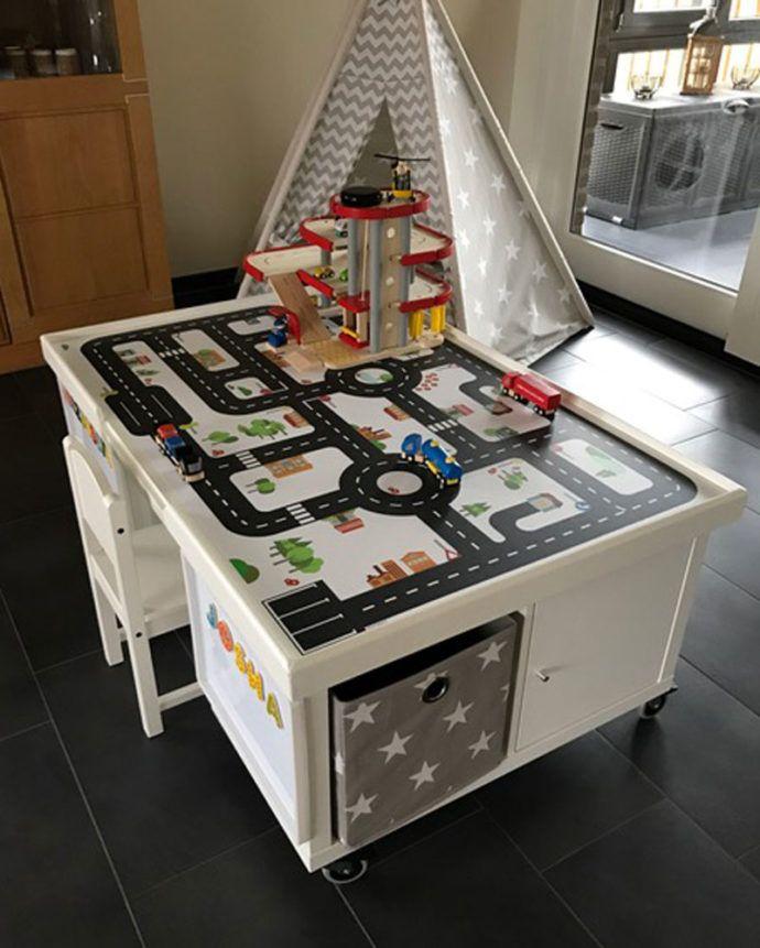multifunktionstisch selber bauen f r kinder selber bauen kinderzimmer und kindertisch. Black Bedroom Furniture Sets. Home Design Ideas