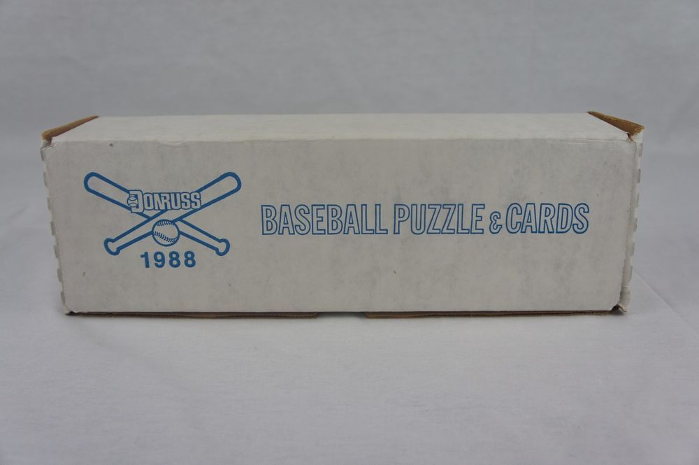 1988 donruss baseball puzzle and cards complete factory