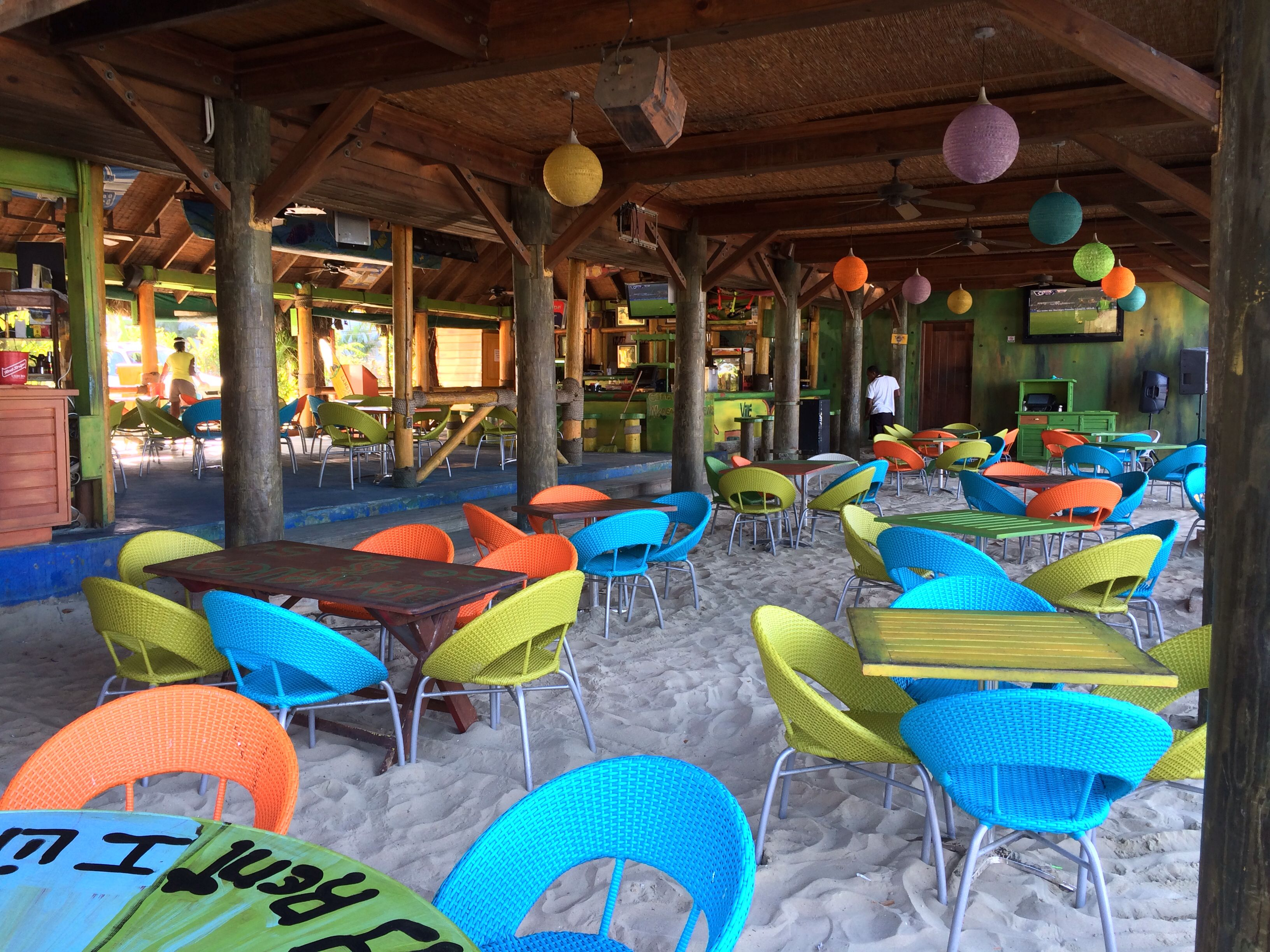 Plenty of spaces and places to hang out. Margaritaville Negril Jamaica etravelaway.com
