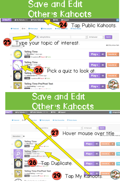 Have you tried Kahoot? 46 Easy Step by Step Directions To Help You Get Started Today