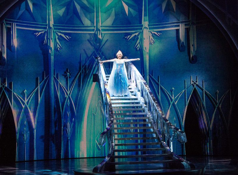 Frozen Fun in California Adventures Hollywood Land [Closed]