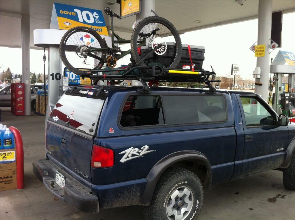 Truck Cab & Camper Shell Roof Baskets & Rack Setups