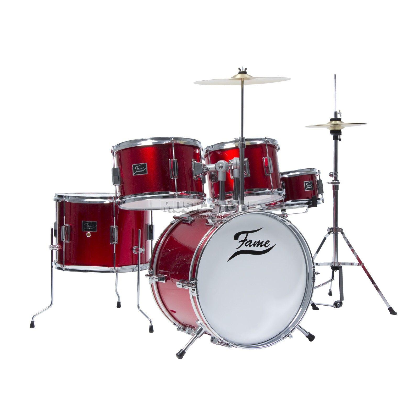 Fame Kiddyset 5 Pc Junior Drumset 799zl Perkusja Instrumenty
