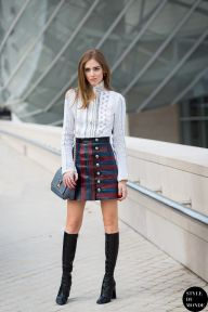 STYLE DU MONDE / Paris Fashion Week FW 2015 Street Style: Chiara Ferragni  // #Fashion, #FashionBlog, #FashionBlogger, #Ootd, #OutfitOfTheDay, #StreetStyle, #Style