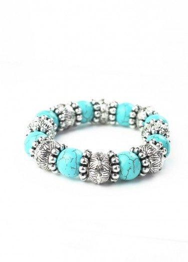 Turquoise Rounds Bracelet  $11.00