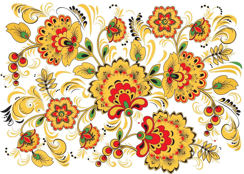 Строителя, картинки русские узоры цветные