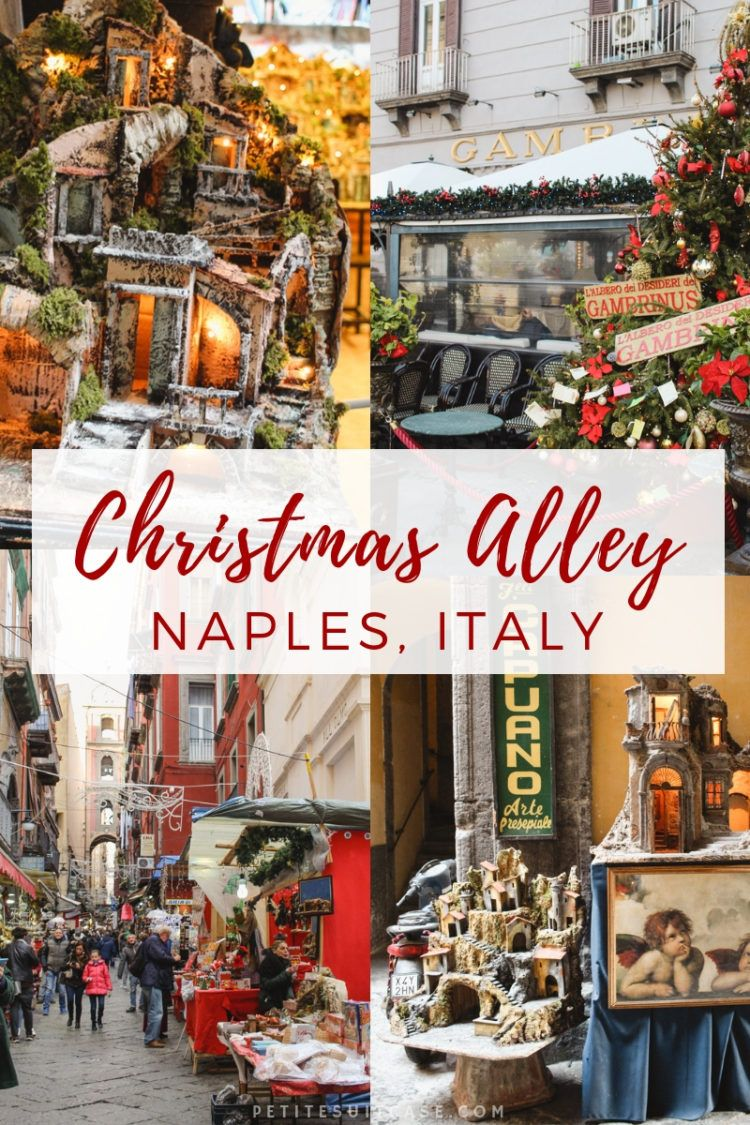 Visiting Christmas Alley in Naples, Italy (With images