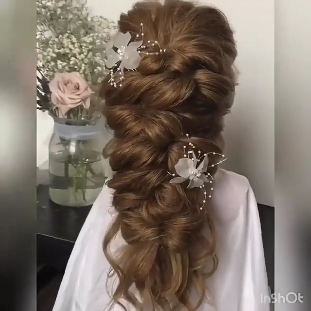 80 Stunning Bridal Hairstyles to Steal Right Now  My Sweet Engagement   frisuren haare hair hair long hair short
