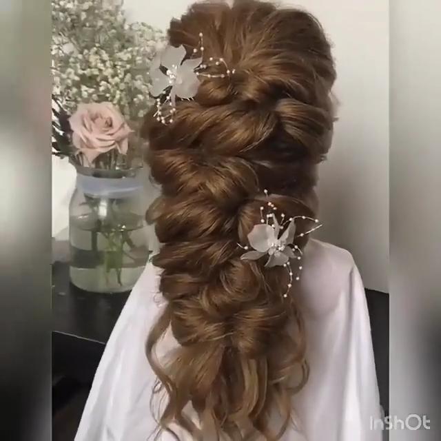Beautiful In 2020 Long Hair Wedding Styles Long Hair Styles Long Hair Video