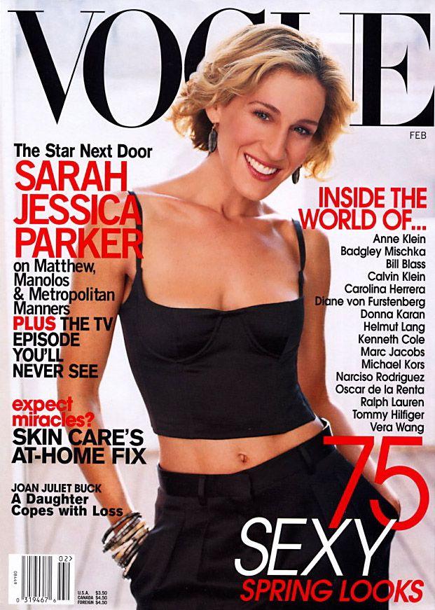 Vogue US February 2002 - Sarah Jessica Parker