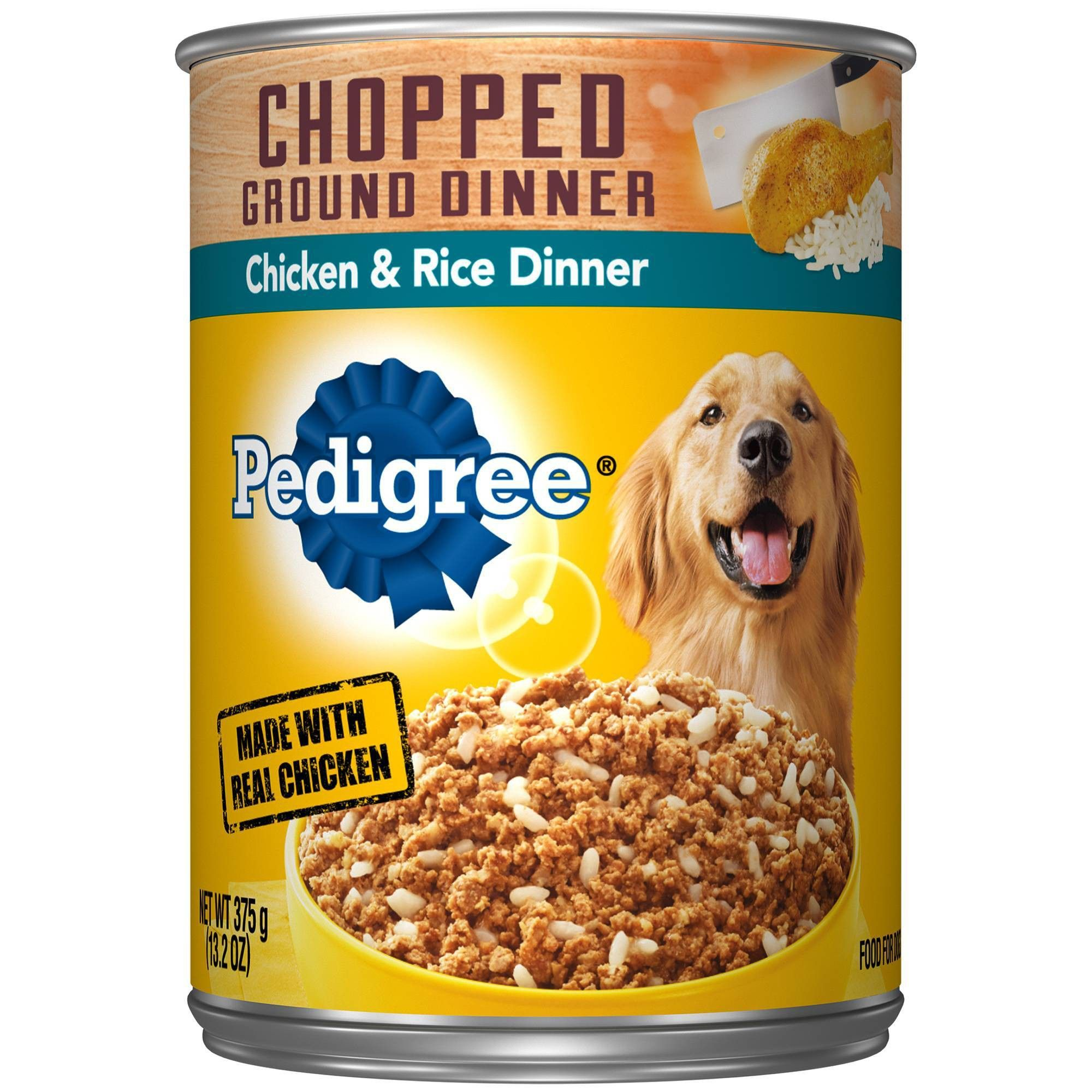 Pedigree Chicken And Rice Wet Dog Food 13 2oz Dog Food Recipes