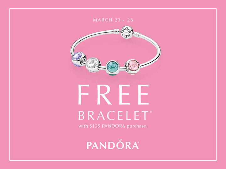 Join Us At Atlanta West Jewelry Tomorrow 3 23 For A Special In Store Pandora Spring Bracelet Event We Know You Ll Love Free Bracelet Spring Bracelet Jewelry