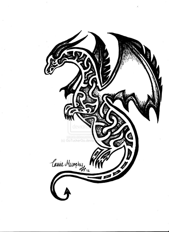 simple dragon drawing - Google Search | Simple dragon ...