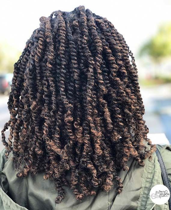 25 Gorgeous Passion Twists Hairstyles #passiontwistshairstyle 25 Gorgeous Passion Twists Hairstyles