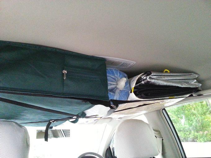車内の天井に収納スペースを 200円と3分で作る秘策 魅惑のキャンプ 収納スペース 天井収納 収納