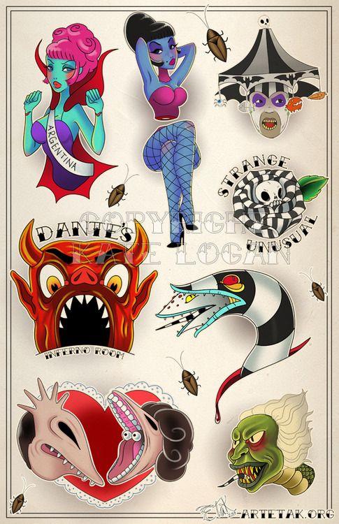 Beetlejuice Sandworm Sandworm Tumblr Beetlejuice Tattoo Halloween Tattoos Flash Tattoo