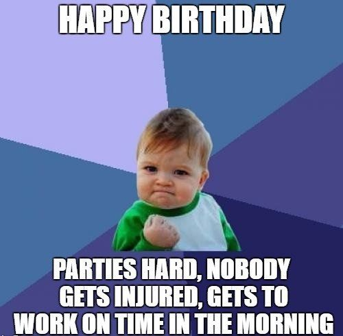 Funny Birthday Meme Images Funny Birthday Wishes Success Kid Herbalife My Face Book