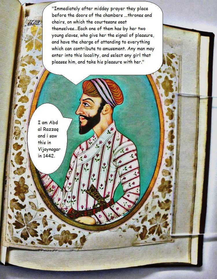Arab Traveler Abd Al Razzaq Samarqandis Account Of Sexual Liberality In India The 15th Century AD Photo From Wiki
