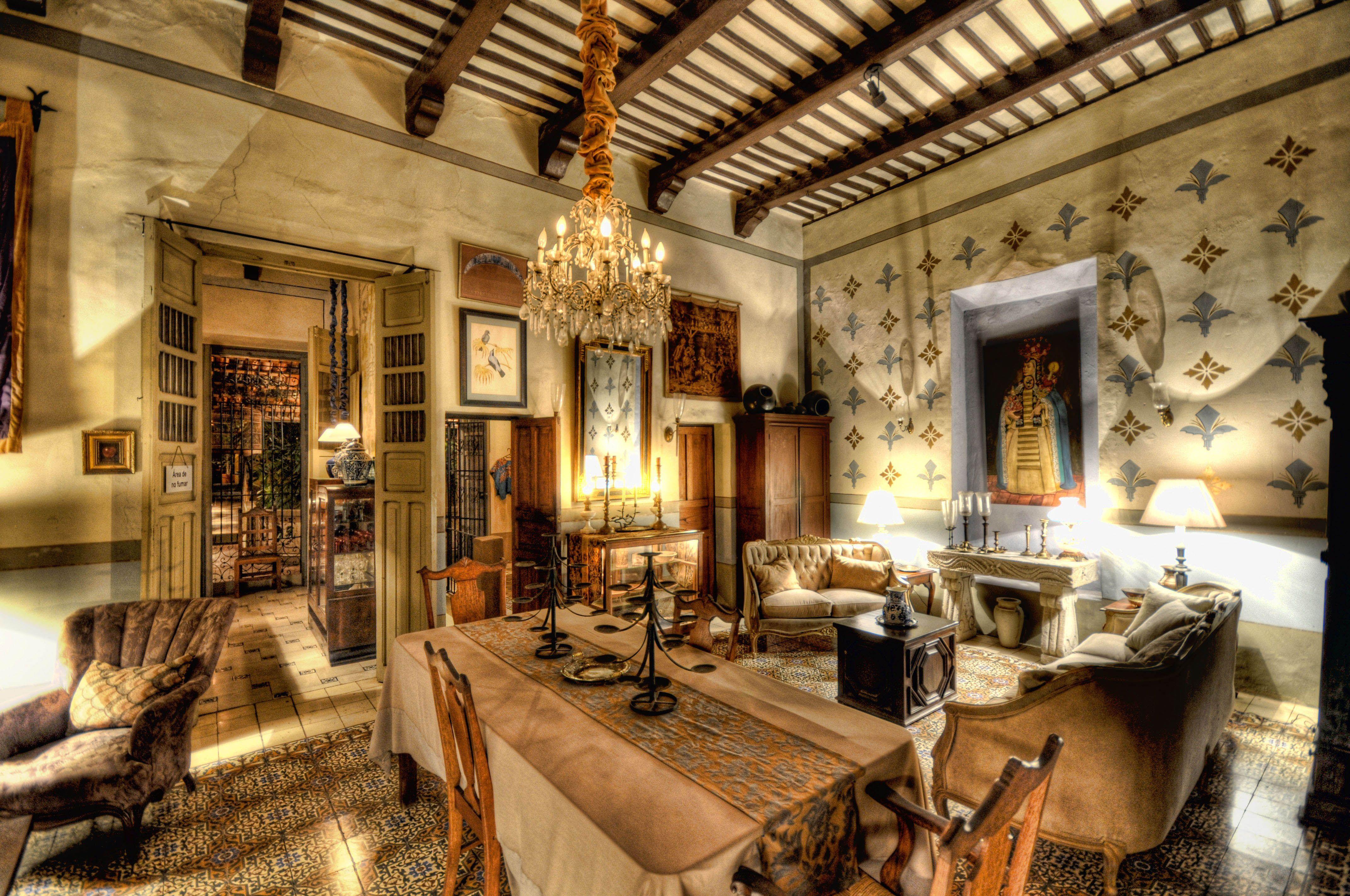 Mexican Living Room Furniture Casa Mexilio In Merida Mexico Mexico Pinterest