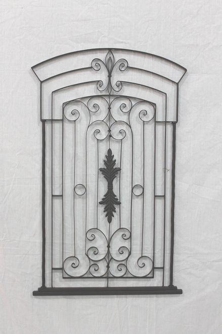 Garden Gate Wall Decor mediterranean garden gate wall grille, wall plaque, wall hanging