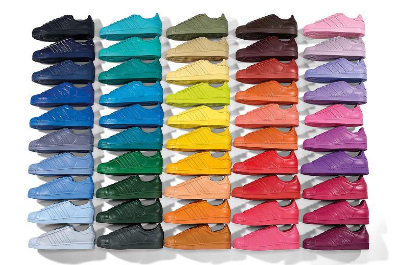 Sneakers. Le Superstar Supercolor pack d'Adidas Originals