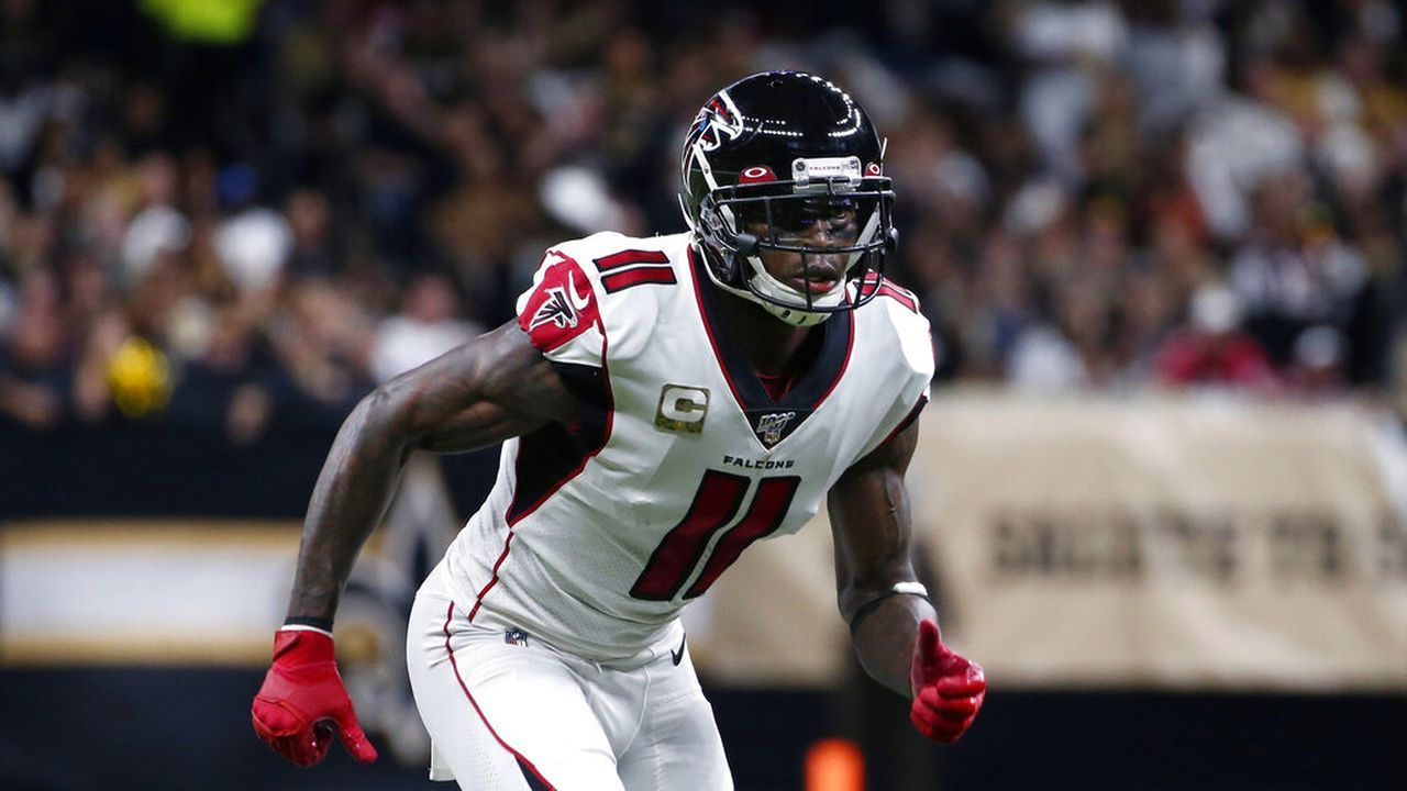 Antonio Brown Tells Julio Jones To Look Up The Stats National Football League News In 2020 Antonio Brown Nfl News Julio Jones