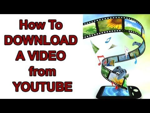 How To Download A Video From YouTube For Free  https://www.youtube.com/watch?v=wxqP4KcPNI0