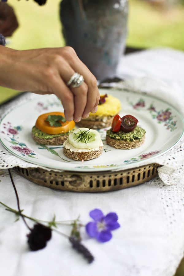 Garden Tea Sandwiches