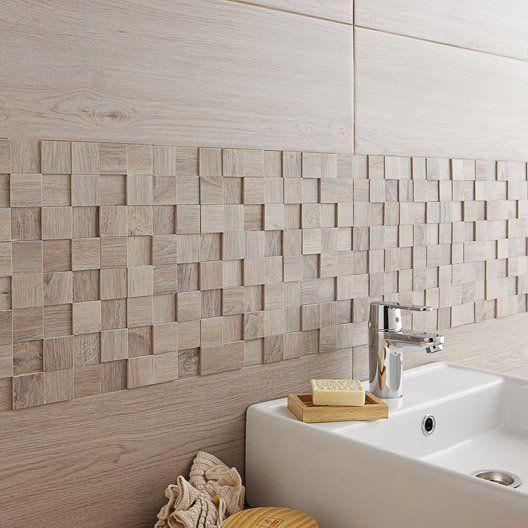 mosaique_mur_havana_3d_gris | Carrelage salle de bain ...