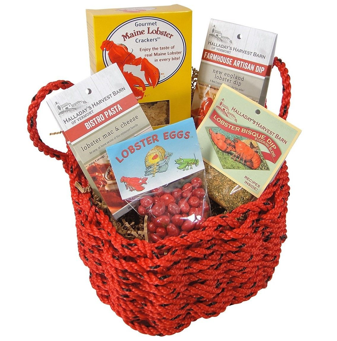 The New England Trading Company. Lobster gift basket.