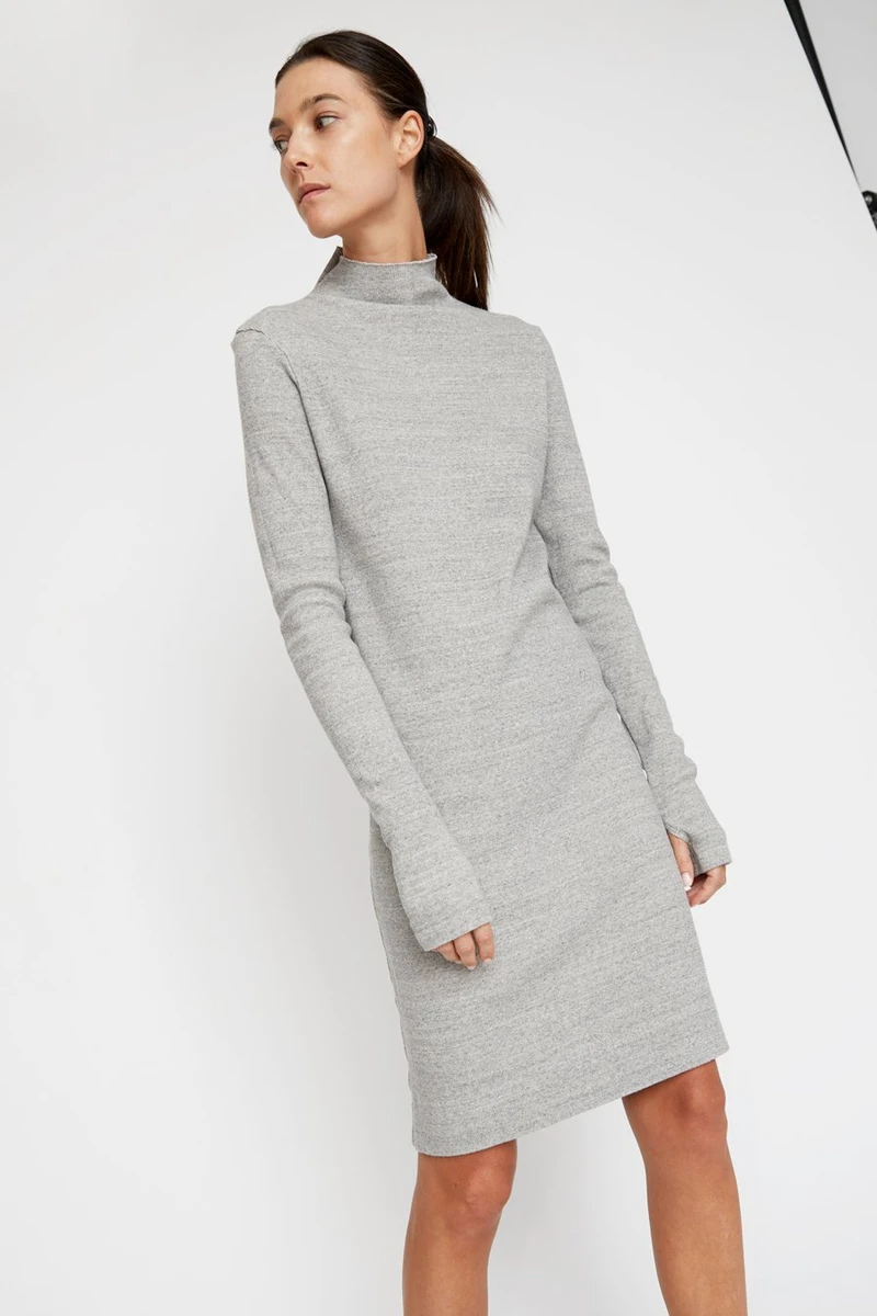 No 6 All Clothing 6 Long Sleeve Turtleneck Dress Turtle Neck Dress Clothes [ 1200 x 800 Pixel ]