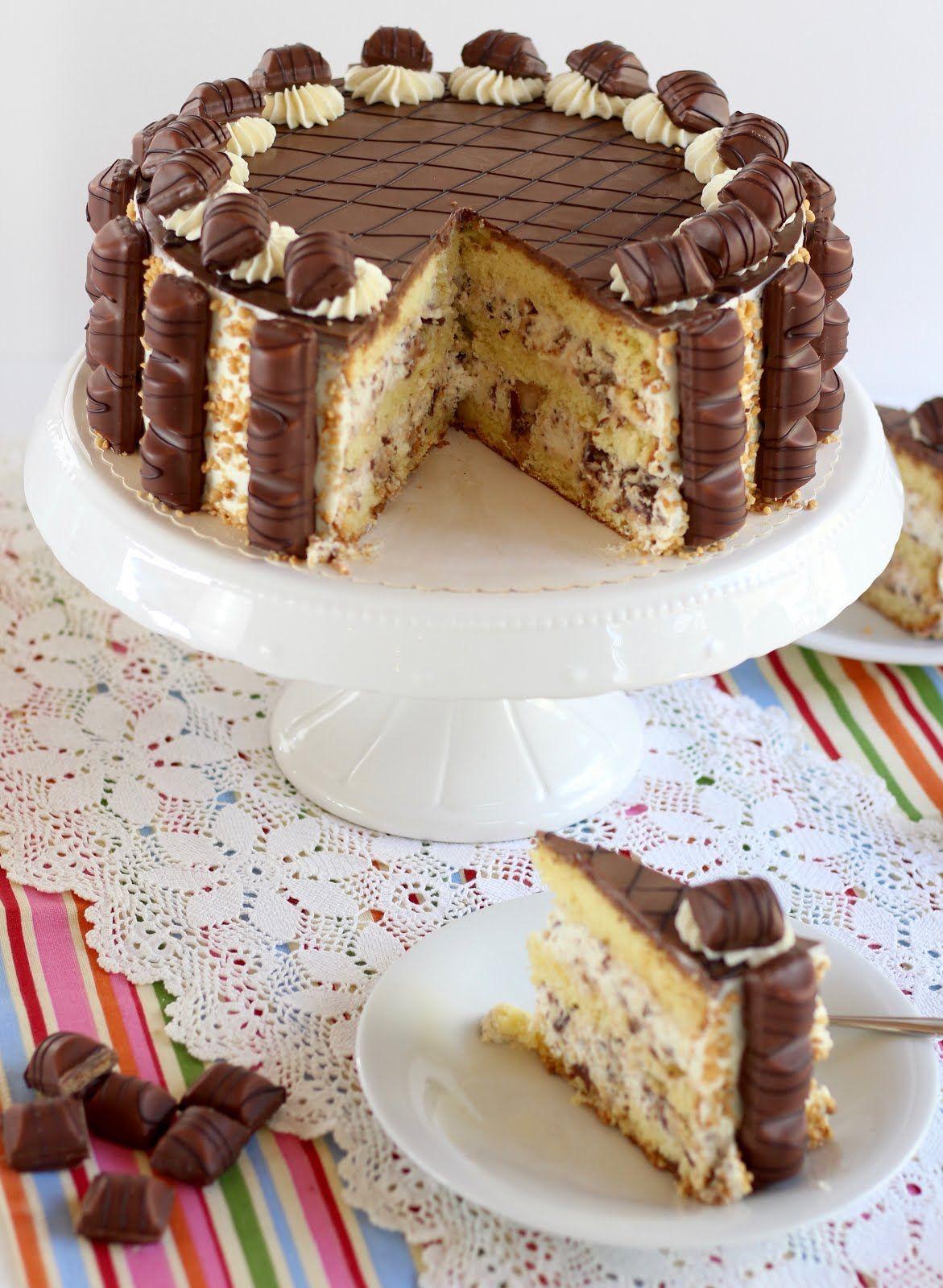 Kinder Bueno Torte - der absolute Knaller für Haselnuss-Lover und Schoko-Freaks   Rezept und Video #tortenrezepte